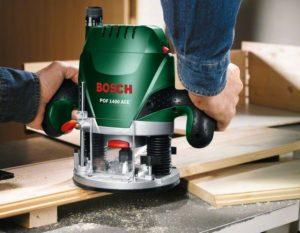 Wie man die Oberfräse anwendet (Bosch 1400W)