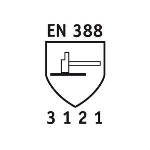 Nach DIN EN388 Zertifikat